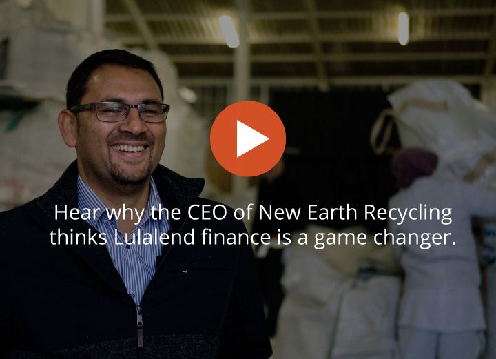 CEO and founder of New Earth Recycling